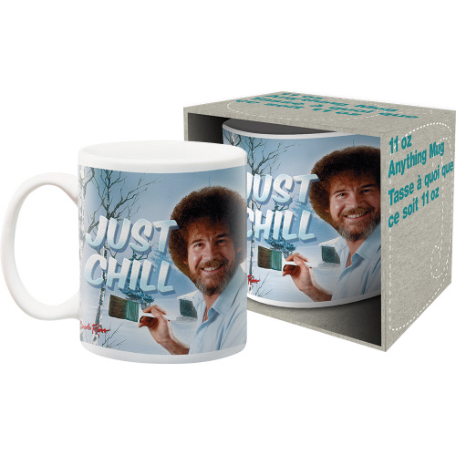 BOB ROSS COFFEE MUGS