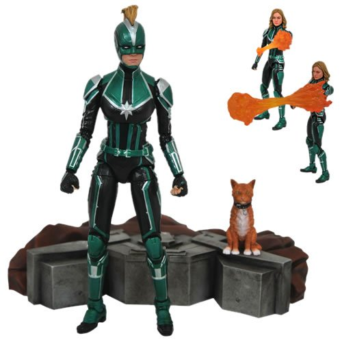 CAPTAIN MARVEL ACTION FIGURES