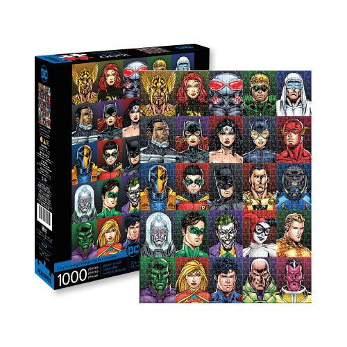 DC COMICS PUZZLES