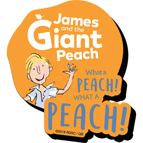 JAMES AND THE GIANT PEACH MAGNETS