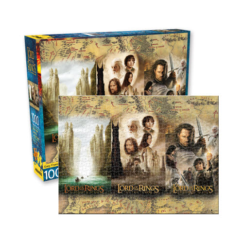 THE LORD OF THE RINGS PUZZLES