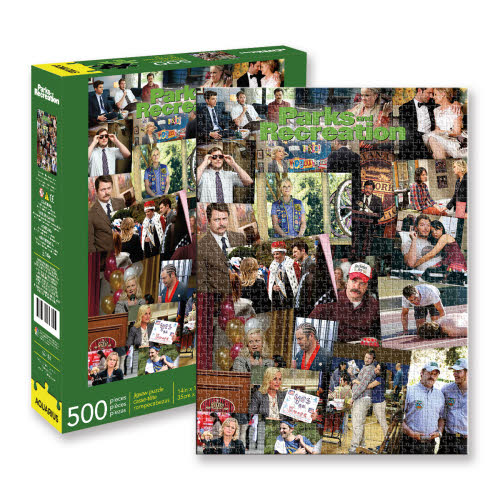 PARKS AND RECREATION PUZZLES