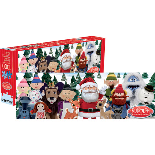 RUDOLPH THE RED NOSED REINDEER PUZZLES