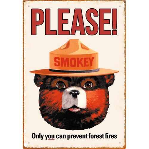 SMOKEY BEAR SIGNS