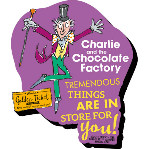 CHARLIE AND THE CHOCOLATE FACTORY MAGNETS