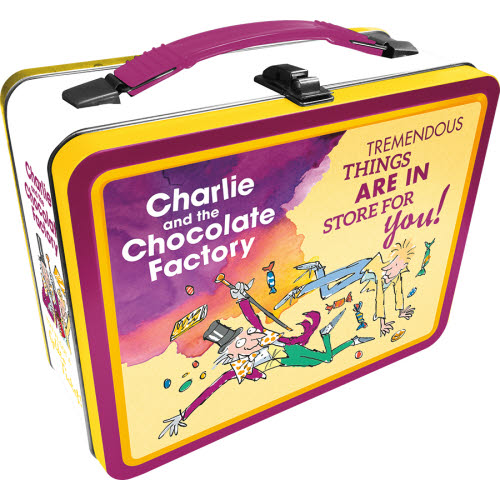 CHARLIE AND THE CHOCOLATE FACTORY TOTES